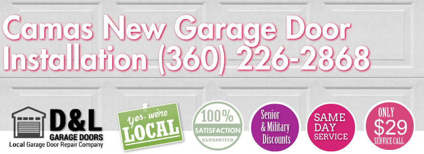 Camas New Garage Door Installation 360 226 2868